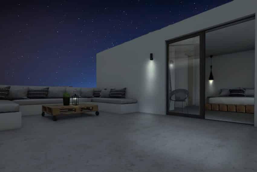 B-balcony night
