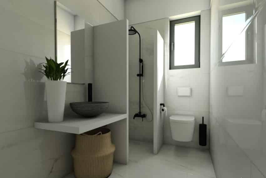 E bathroom - E