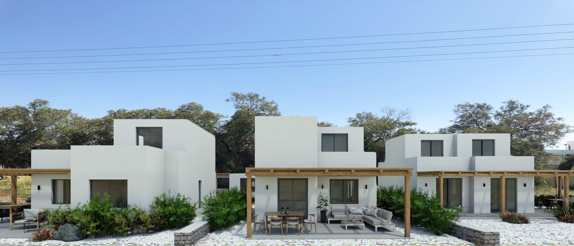 Jotta Project – 3 Villas Great Sea View – Stelida