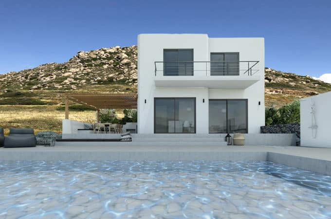 La Valle Project – 3 Villas with private pool and seaview – Mikri Vigla