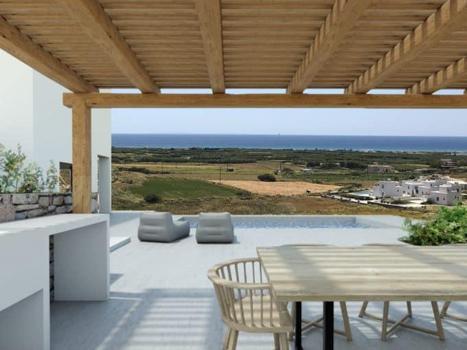 La Valle A - Villa with private pool and sea view - Mikri Vigla