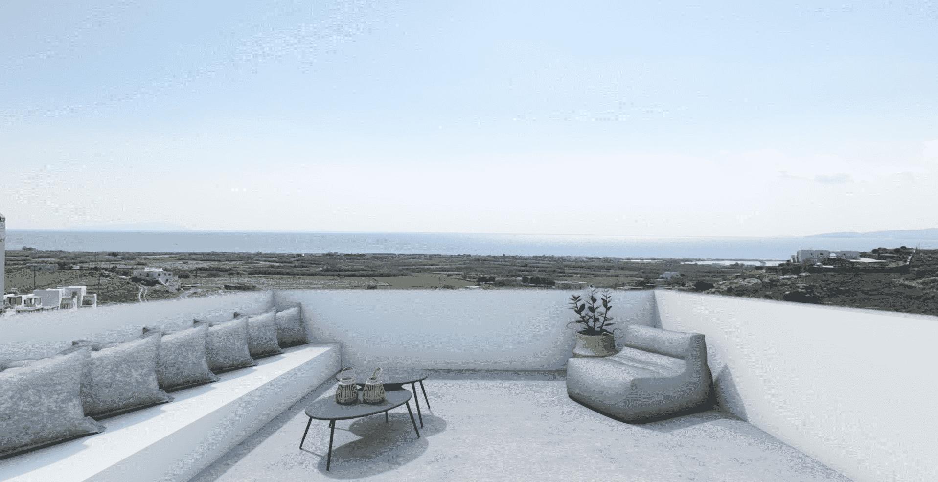 La Valle C – Villa with private pool and sea view – Mikri Vigla