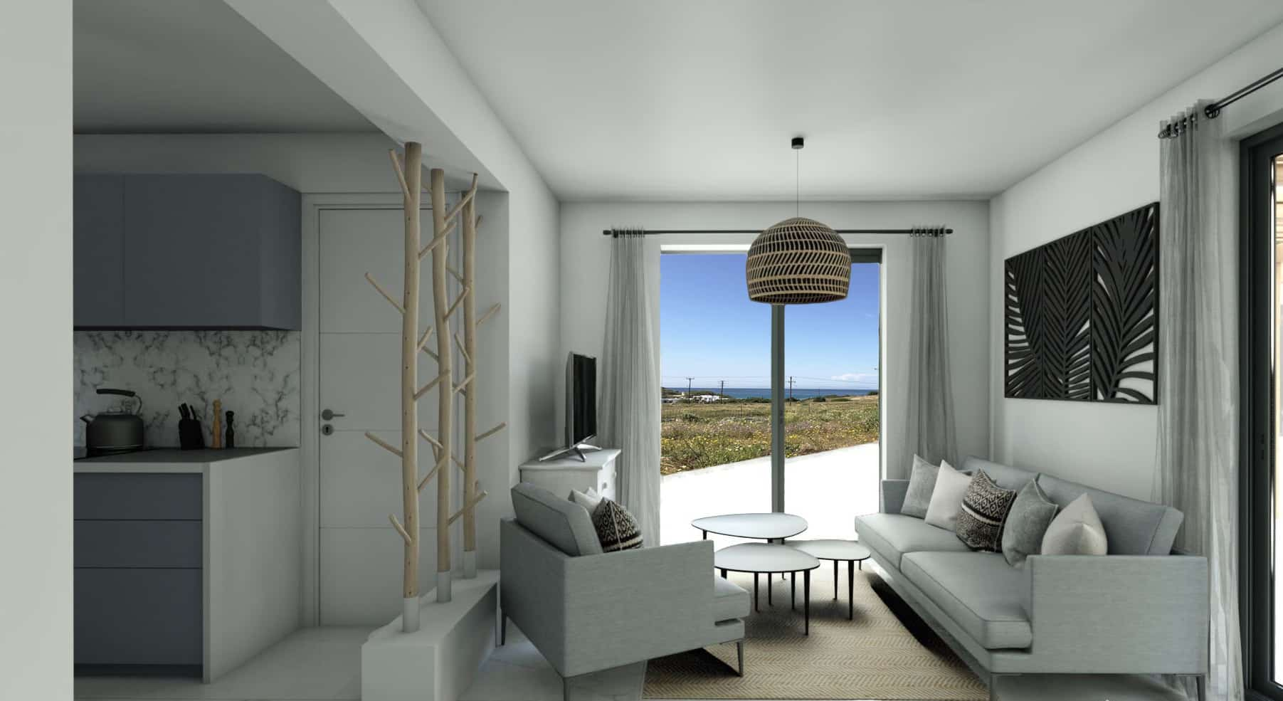 Jotta 3 – Villa with Great Sea View – Stelida