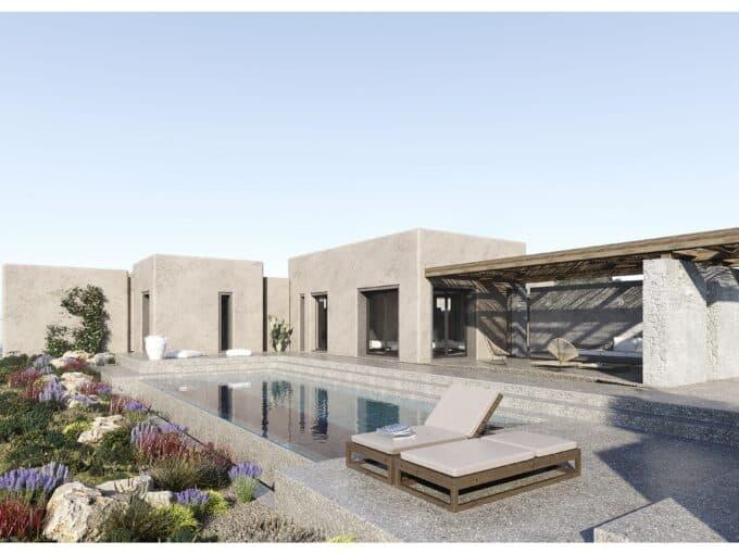 Villas with private pool - Plaka Beach